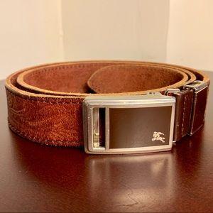 Burberry Vintage Belt